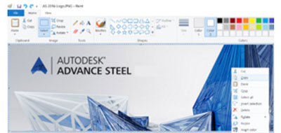 Advance Steel HYPERSTEEL PAGEHEADER copy Paste