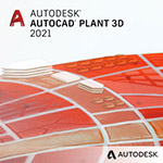 autocad plant 3d 2021 badge 150px opt