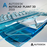 autocad plant 3d 2019 badge 150ppx