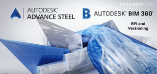 Discover the Autodesk BIM 360 RFI and Versioning tool using an Autodesk Advance Steel 2020 model