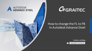 How to change the FL to FB in Autodesk Advance Steel