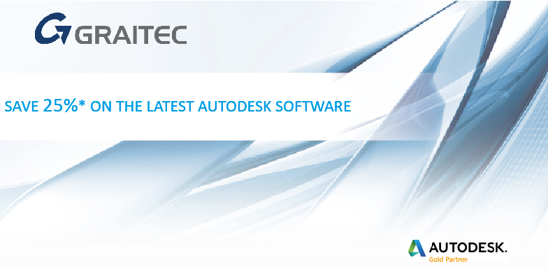 Promo Get 25 off the latest Autodesk software